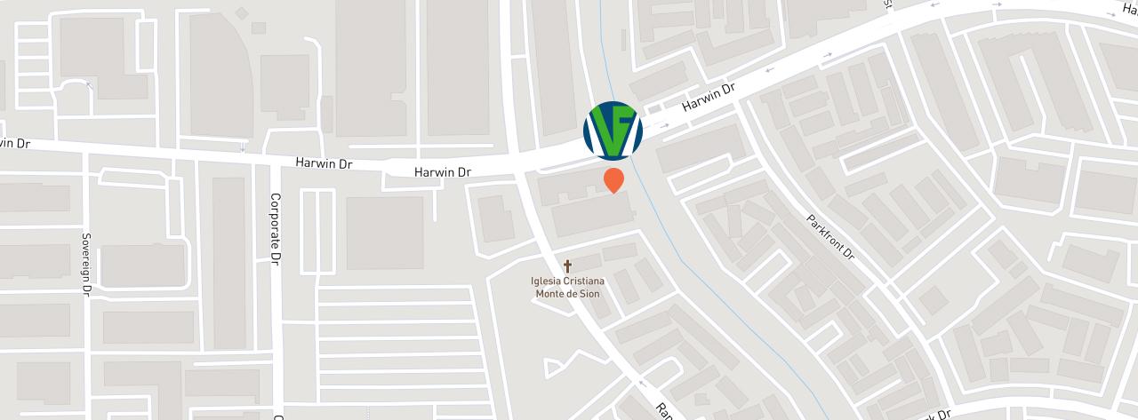 mapa de ubicación Vernal Dallas